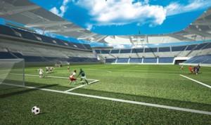 Potrivit autorităţilor, stadionul republican va fi parte a viitorului complex naţional sportiv.